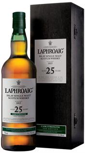 Laphroaig Scotch Single Malt 25 Year Cask...